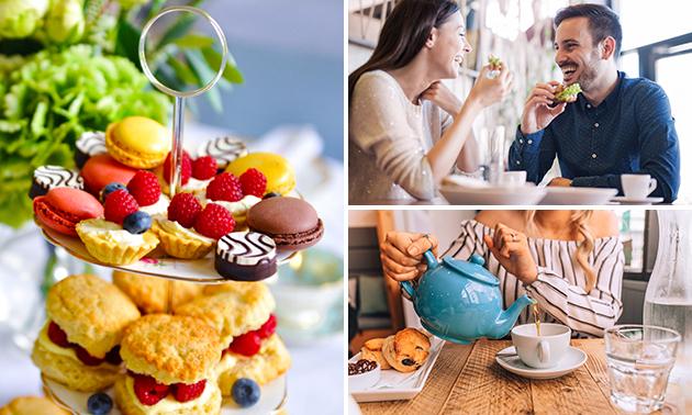 Thuisbezorgd of afhalen: high tea van Galleria Barista