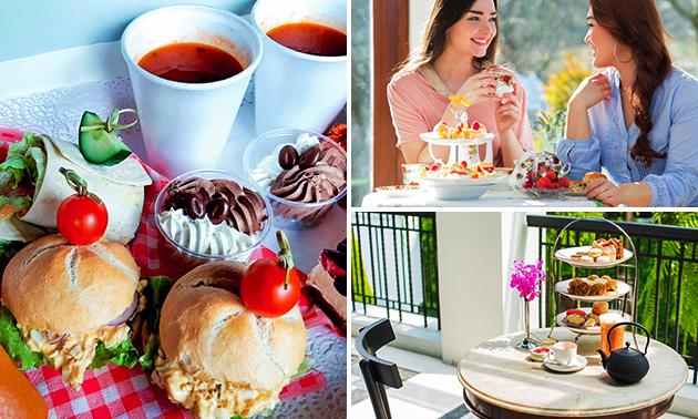Afhalen: high tea bij Gasterij 't Dorpsgenot