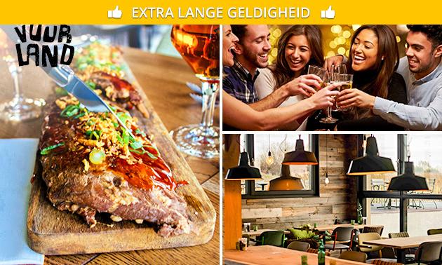 All-You-Can-Eat spareribs bij Gasterij Vuurland