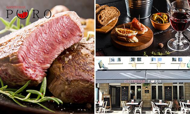 Afhalen: Italiaanse shared diner (9 gerechten) bij Puro