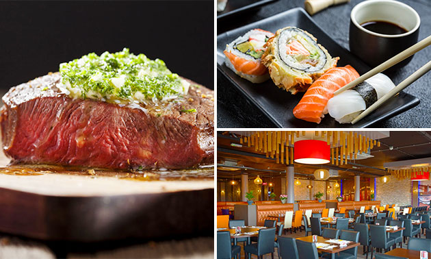 All-You-Can-Eat & Drink (3 uur) bij Genieten Wereldrestaurant