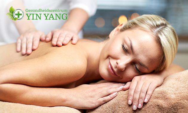 Massage naar keuze (1 uur)