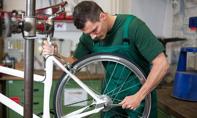 Onderhoudsbeurt voor je fiets bij Giant van Bebber