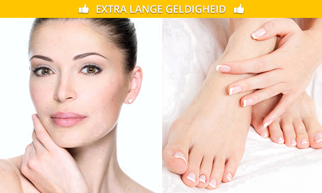 Gezichts- en/of pedicurebehandeling