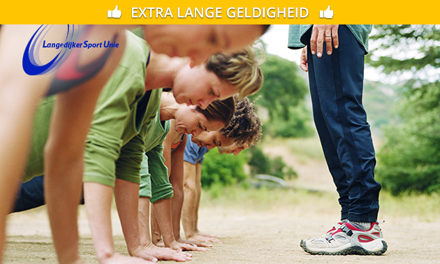 10 lessen bootcamp + evt. massage