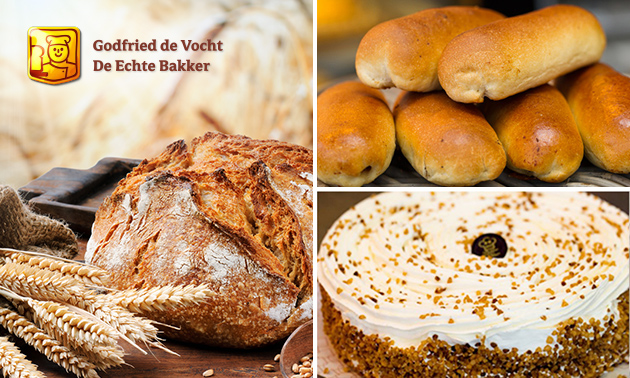 Afhalen: 6 worstenbroodjes + brood naar keuze + ijstaart