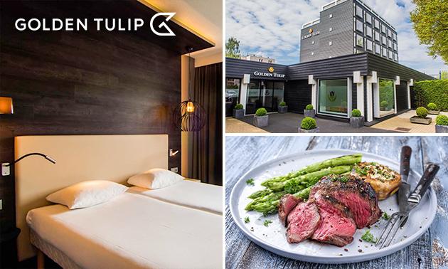 Overnachting voor 2 + ontbijt + 3-gangendiner in Zoetermeer