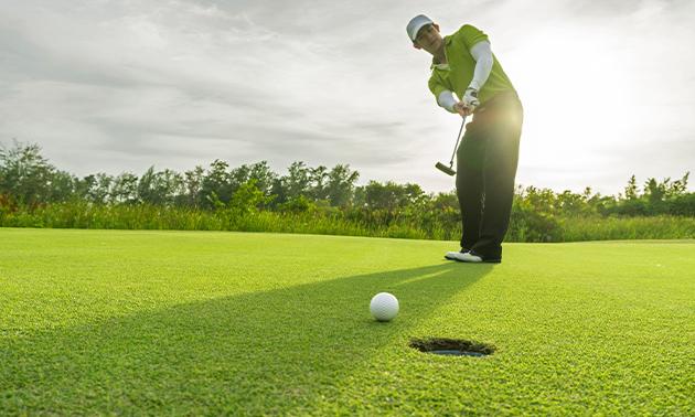 Dagabonnement voor de golfbaan bij Golf Maasduinen