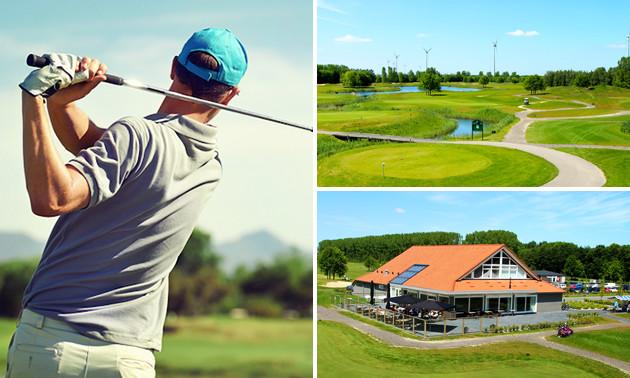 Golf (9 holes) + huur golfset