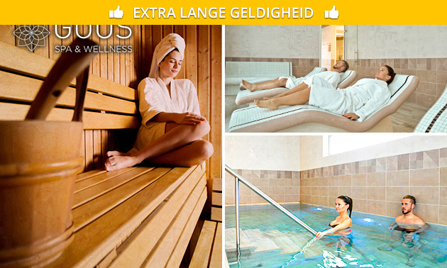 Saunadag bij GOOS Spa & Wellness