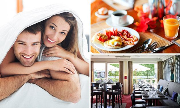 Overnachting + eventueel ontbijt voor 2 nabij Brussel