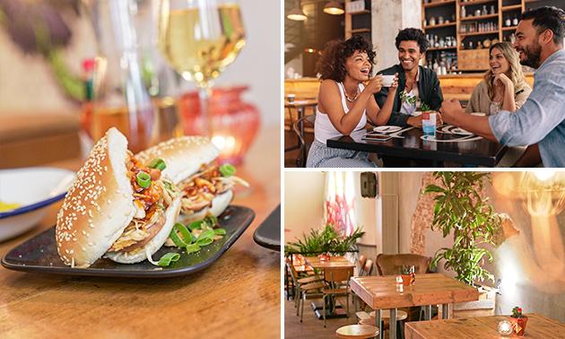 Lunchplateau + drankje in hartje Haarlem