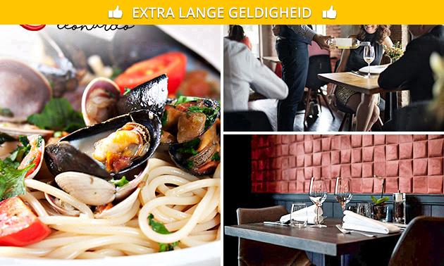 4-gangendiner + amuse bij Grand Café Leonardo