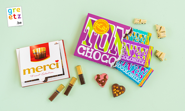 Chocolade van Greetz