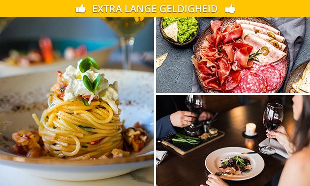 Bezorgd of afhalen: aperoschotel + pasta voor 5, 10 of 20 pers.