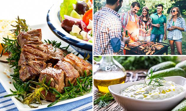 Afhalen: Grieks barbecuepakket voor 5 personen