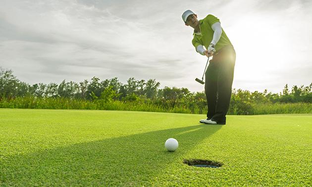 Golfcursus: GVB halen in 1 dag