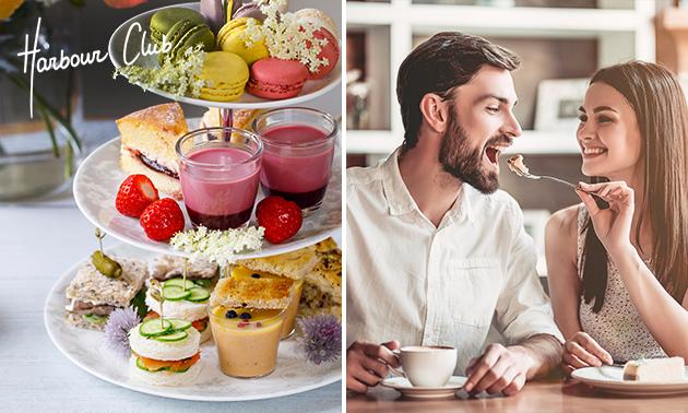 Thuisbezorgd of afhalen: valentijns-high tea van Harbour Club