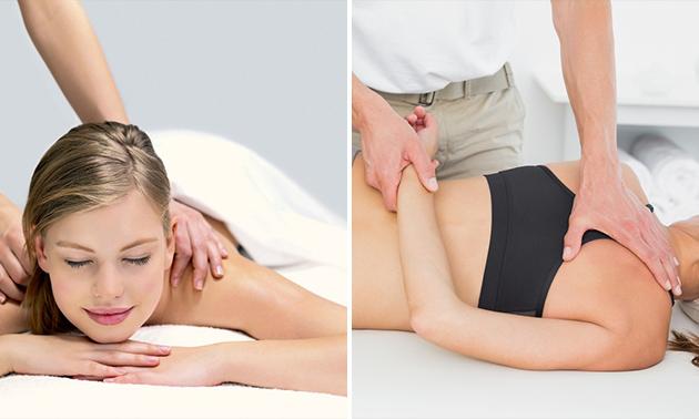 Ontspannings- of sportmassage aan huis (60 minuten)