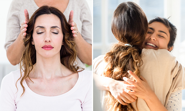 Reiki-Behandlung (60 Min.) oder Familientherapie (1,5 Std.)