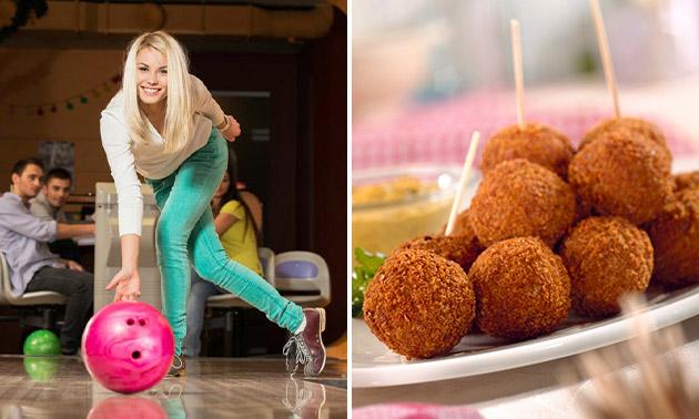 2 spelletjes bowlen + snacks