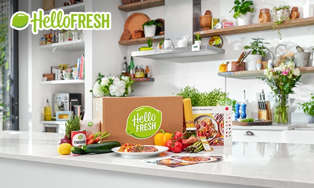 1, 2, 3 ou 4 box repas HelloFresh