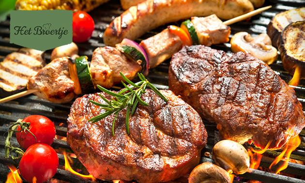 Afhalen: BBQ-pakket voor 4 personen