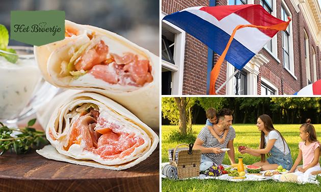 Afhalen: Koningsdag-picknick (14 tapas + sap)