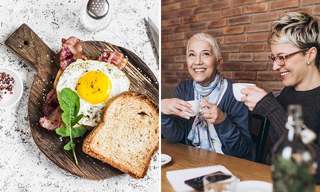 Ontbijt naar keuze + bubbels