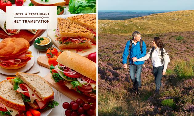 Wandelarrangement + uitgebreide lunch om af te halen