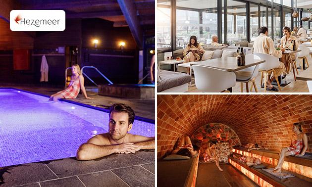Gehele dag sauna + massage + drankje