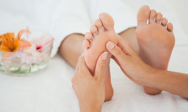 Aromatherapie-voetenbehandeling (60 min)