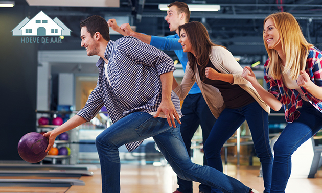 2 uur bowlen (1 tot 8 personen) bij Hoeve de Aar