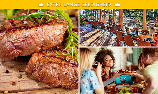 All-You-Can-Grill + welkomstdrankje