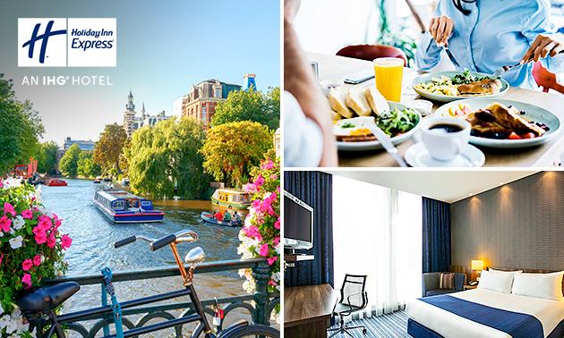 Overnachting + ontbijt voor 2 personen in Amsterdam-Zuidoost