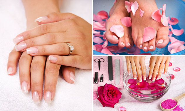 Manicure- of pedicurebehandeling