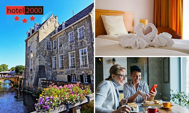 Overnachting(en) + ontbijt voor 2 in Valkenburg