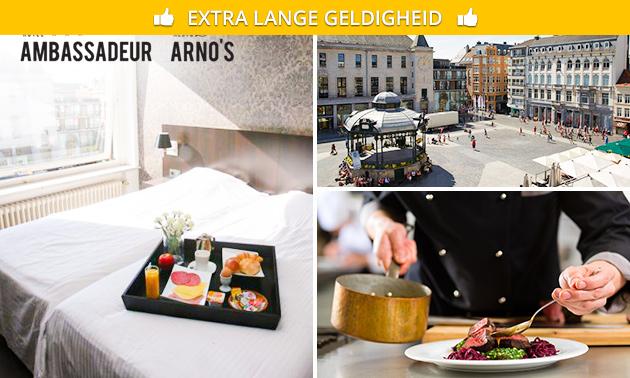 Overnachting(en) + sauna + ontbijt voor 2 in hartje Oostende