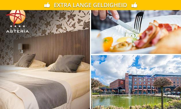 Overnachting + ontbijt + evt. diner voor 2 in Limburg