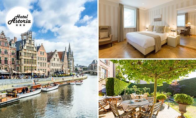 VIP-overnachting voor 2 + ontbijt + bubbels in Gent