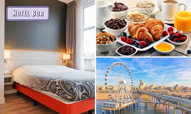 Overnachting voor 2 + evt. ontbijt in Scheveningen