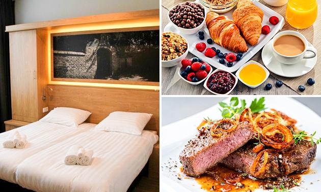 Overnachting + ontbijt voor 2 in hartje Venray