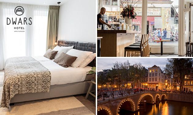 Overnachting(en) voor 2 personen in hartje Amsterdam