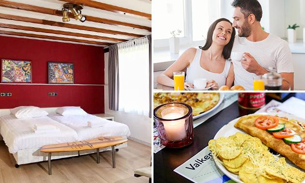 Overnachting(en) voor 2 + ontbijt in Valkenburg