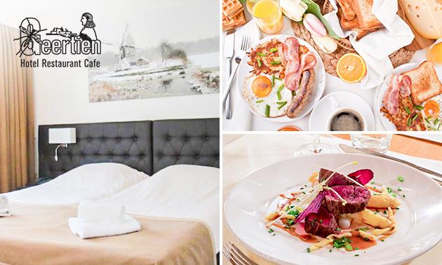 Hotelovernachting(en) + ontbijt voor 2 in Overijssel