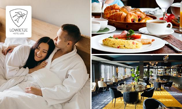 VIP-overnachting(en) voor 2 + ontbijt in de Bollenstreek