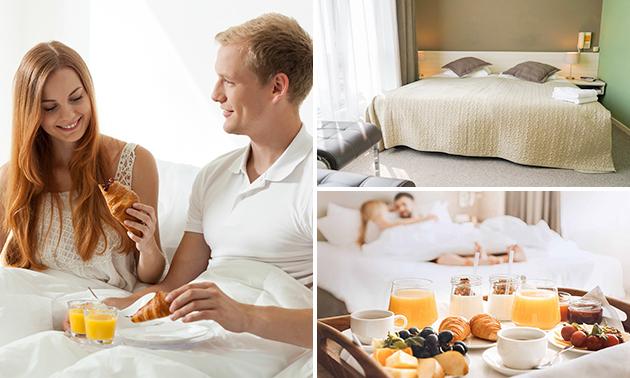 2 overnachtingen + ontbijt + diner + entree Holland Casino