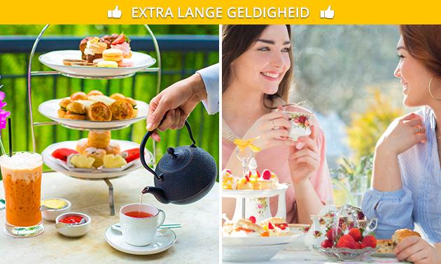 Thuisbezorgd of afhalen: high tea voor thuis