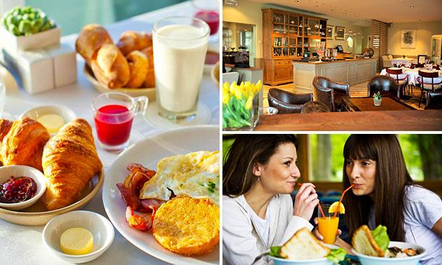 Ontbijtbuffet + glas cava bij Ter Heide