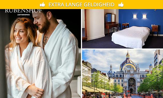 Overnachting + ontbijtbox voor 2 personen in Antwerpen